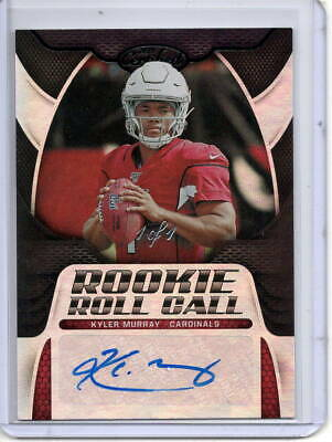 Kyler Murray Auto Rc 1/1 2019 Panini Certified Rookie Roll Call Black 1Of1 Sp
