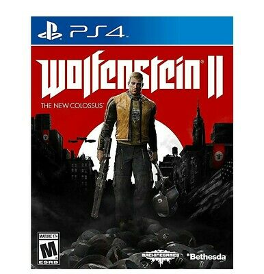 Wolfenstein II: The New Colossus -- Collector's Edition (Sony PlayStation 4, 20…