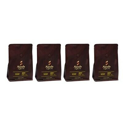 4 X 200 gms Speciality Coffee Beans - Medium-Dark Roasted. Free Shipping