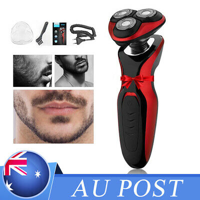 Wet Dry Rotary Rotary Shaver Rechargeable Washable Men's Cordless Electric Razor
