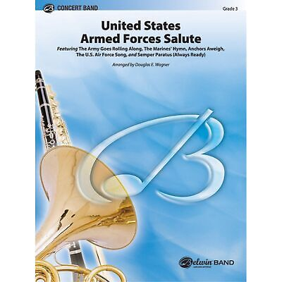 United States Armed Forces Salute - Various / arr. Douglas E. Wagner