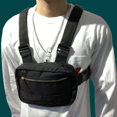 Mini Mens Waist Chest Belt Bag Fanny Pack Sports Shoulder Phone Tactical Hiking