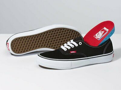 Vans Shoes Authentic PRO Black White USA SIZE Classic Skateboard Sneakers