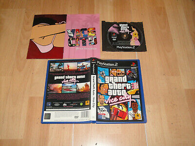 Grand Theft Auto Vice City Gta Para La Sony Ps2 Version Original En Buen Estado