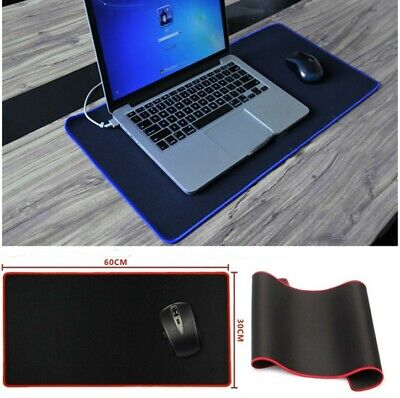 EXTRA LARGE XXL GAMING MOUSE PAD MAT FOR LAPTOP MACBOOK ANTI-SLIP RUBBER 60x30cm
