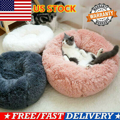 CALMING BED Absolut Soothing Bed Warm Fleece Dog Bed Puppy Mat Pet Beds USA HOT