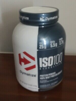 DYMATIZE ISO-100 HYDROLYZED 100% Whey Protein Isolate 1 6 Lb