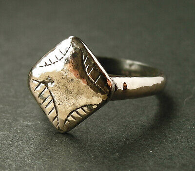 Genuine ancient Medieval Æ ring - Found on Cyprus - Wearable
