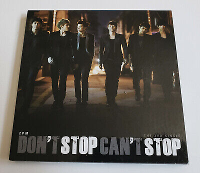 2PM 3rd Single Album Don't Stop Can't Stop Korea Press CD - No Photocard