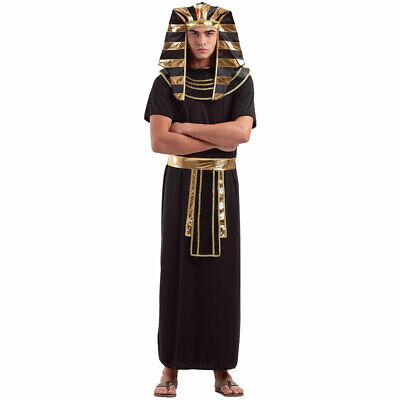 Egyptian Pharaoh Men's Halloween Costume - King of Egypt Ancient Robes