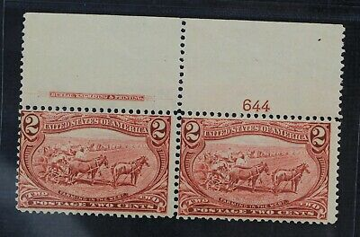 CKStamps: US Stamps Collection Scott#286 2c Mint NH OG Pair