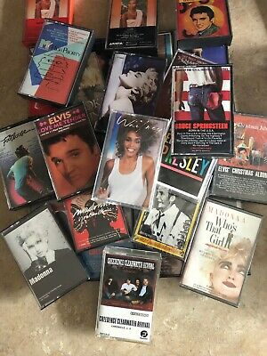 Vintage Cassette Tapes (You Pick The Title!)