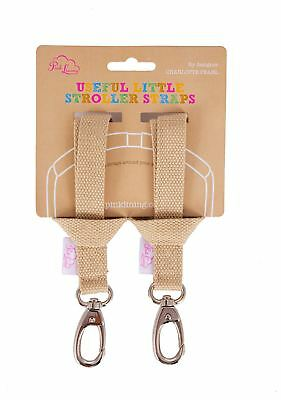 Pink Lining STROLLER STRAP OATMEAL Baby Pushchair Accessory Safety BN
