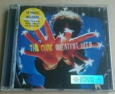 THE CURE - Greatest Hits CD 2001 Polydor Best Of Collection Essential