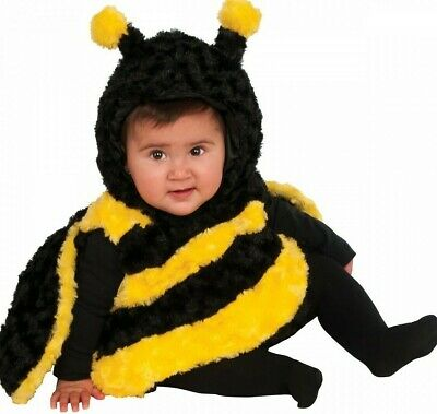 Girls Little Stinger Bumble Bee Costume Animal 0-24 months Fancy Dress Outfit