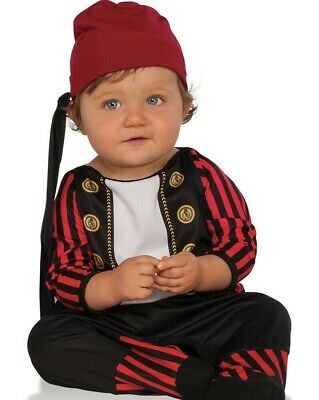 Pirate Cutie Costume - Infant & Toddler -Baby Babies Boys Girls Bucanneer Outfit