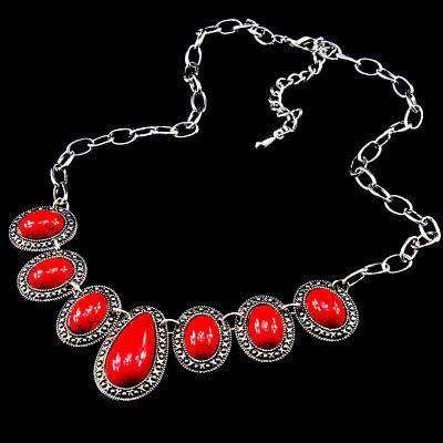 Gemstone Turquoise 925 Silver Plated Men Womens Vintage Necklaces New Arrival