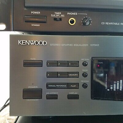 Kenwood 1070KE Stereo Graphic Equalizer excellent condition