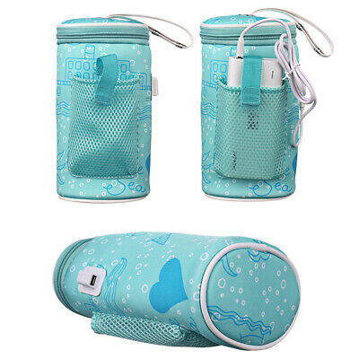 AU Baby Milk Bottle Warmer Insulation Thermal Bag Baby Bottles Water Cup Keep