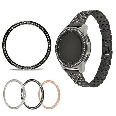For Samsung Galaxy Watch Crystal Bezel Ring Adhesive Cover Anti Scratch 42/46mm