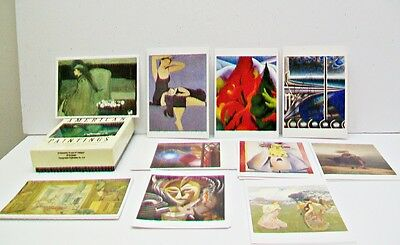 AMERICAN PAINTINGS National Museum Art Smithsonian Inst Boxed 20 Notecards + Env