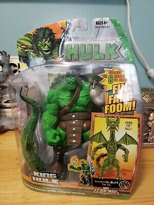 MARVEL LEGENDS Collection KING HULK action figure FIN FANG FOOM Series Brand New