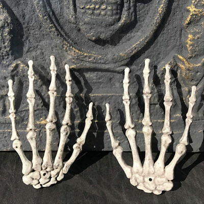Plastic Skeleton Hand Haunted House for Halloween Decoration Halloween Party FA