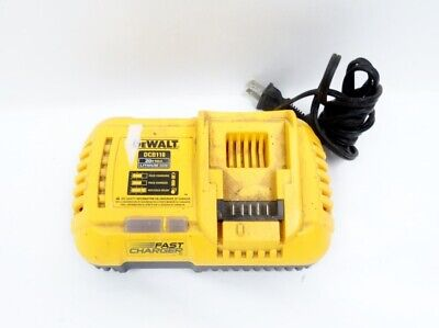 DeWALT (DCB118) 20-Volt Max Lithium-Ion Fan-Cooled Fast Battery Charger 7B13813A
