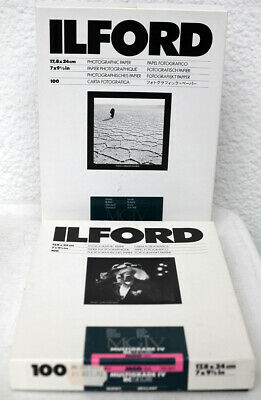 Ilford MGIV Multigrade IV RC DeLuxe 17,8 x 24 cm Photo Paper, EXPIRED