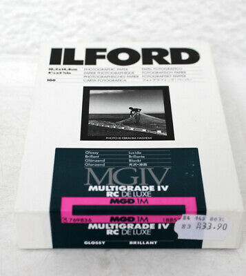 Ilford MGIV Multigrade IV RC DeLuxe MGD.1M  10,5 x 14,8 cm Photo Paper, EXPIRED