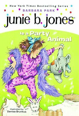 Junie B. Jones Is A Party Animal (Turtleback School & Library Binding Edition)