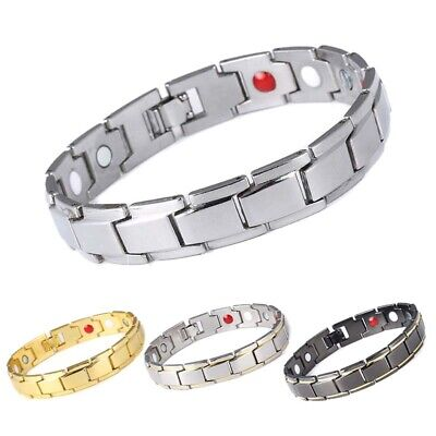 Men Women Therapeutic Energy Healing Magnetic Bracelet Therapy Bangle Arthritis