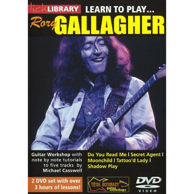 Learn To Play Rory Gallager Lick Library DVD RDR0162