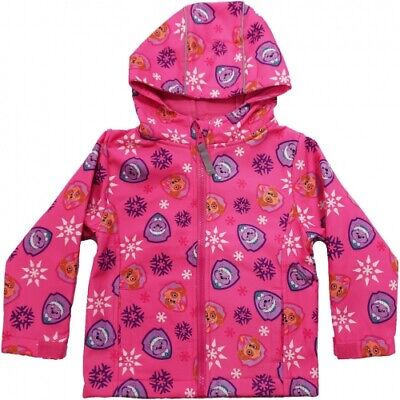 Official character Softshell Jacket with fleece Lining. Paw Patrol & My. L. Pony