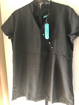 Black Beauty Therapy Tunic Size 18
