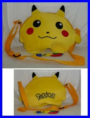 Pikachu Pokemon Bag Purse Plush 30x22cm Cosplay New