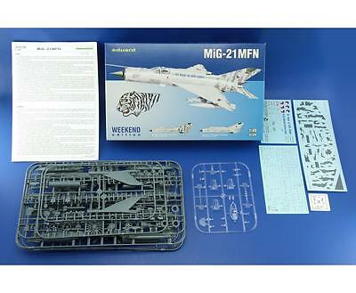EDUARD 84128 MiG-21MFN Supersonic Fighter in 1:48