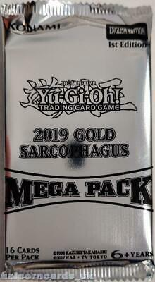 YuGiOh! 2019 Gold Sarcophagus Tin Mega Packs x1 :: New And Sealed ::