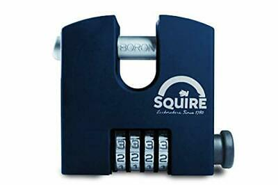 Henry Squire SHCB High Security Recodable Combination Block Lock 4 Wheel Padlock