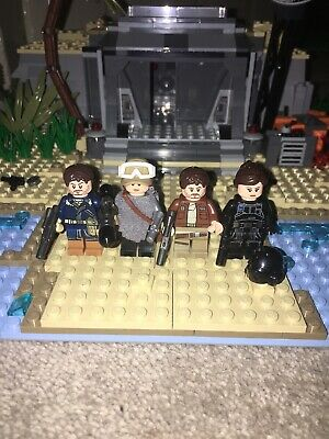 Lego Star Wars Rogue One Minifigures-Cassian Andor & Jyn Erso From 75155, 75171