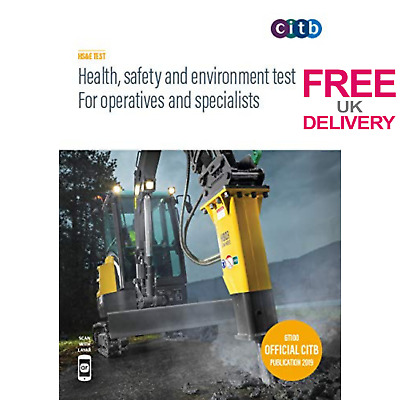 CSCS Book Health Safety Environment Test For Operatives Specialists Paperback