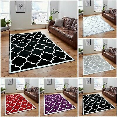 A2Z Rug Modern Geometric Trellis Living Dining Room Bedroom Area Rugs & Carpets