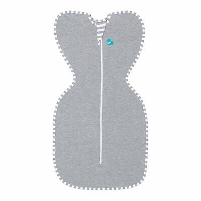 Love To Dream Swaddle UP, Gray, Small, 7-13 lbs, Dramatically Better Sleep