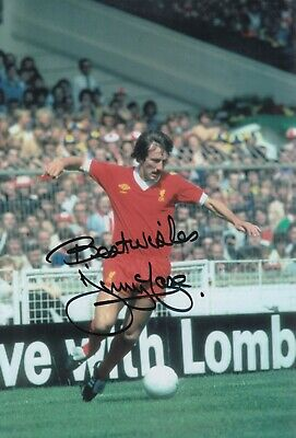 Jimmy Case Hand Signed 12x8 Photo - Liverpool Autograph.