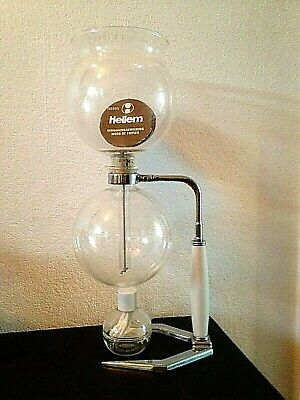 """""""Hellem"""" French Art Deco Style Ten Cup Coffee Maker -Cona - Unused Unwanted Gift"""