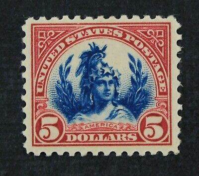 CKStamps: US Stamps Collection Scott#573 $5 Mint H OG CV$90