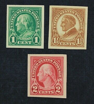 CKStamps: US Stamps Collection Scott#575 576 577 Mint 2NH OG, #576 LH