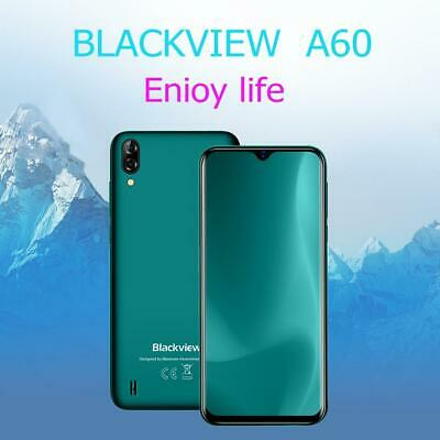Blackview A60 Smart Phone 6.1inch Android 8.1 MTK6580A Quad Core 3G Mobile Phone