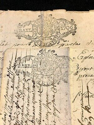 Collection Of Two Documents 1705, 1708