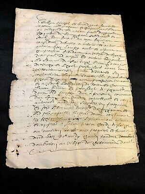 Handwritten Document 1664